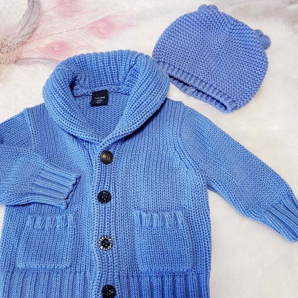 GAP Other - GAP Cabin cardigan and hat